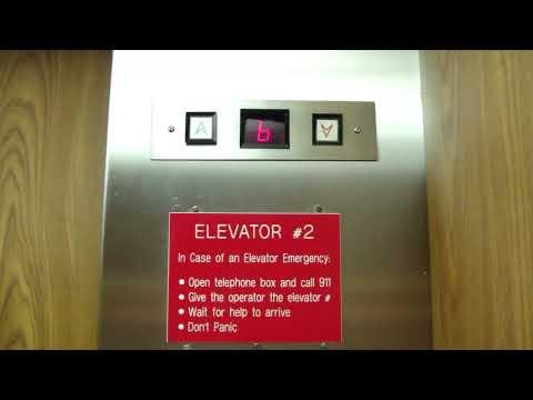 US Elevator Hydraulic Elevator W/jimster586 @ Lynchburg City Hall Lynchburg VA