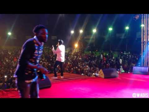Kinnah Live performance at  Busy Signal SHOW ZIMBABWE 2017 part 2