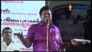 Actor Ramarajan Controversial Speech | About Karunanidhi, Vijayakanth, Vaiko and Stalin