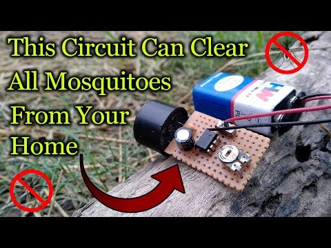 Ultrasonic Mosquito Repellent || High Frequency Sound Generator