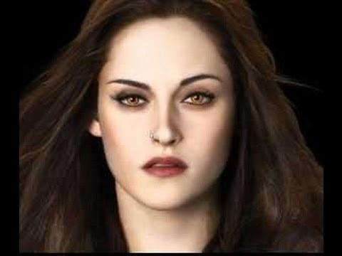 Breaking Dawn Bella Swan Vampire Make up Tutorial - YouTube
