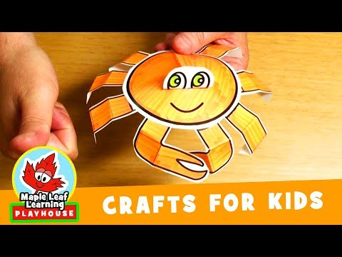Crab Craft for Kids | Maple Leaf Learning Playhouse