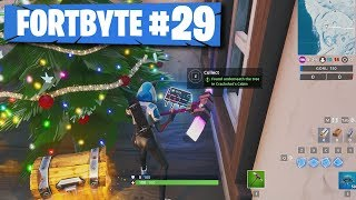 *LEAK* Fortnite Fortbyte #29: Found Underneath the Tree in Crackshot's Cabin