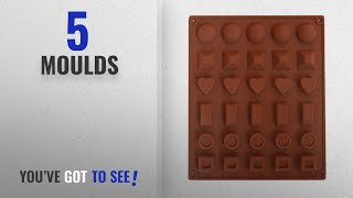 Top 10 Moulds [2018]: Hua You Silicone Chocolate/Ice Mould (Multiple Shapes), 1 Piece, Color May