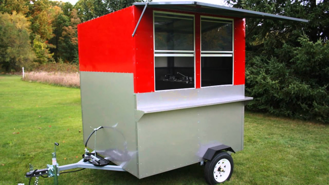 Hot Dog Cart Company | California Grill Hot Dog Cart - YouTube