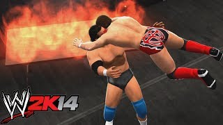 WWE 2K14 EXTREME MOMENTS!