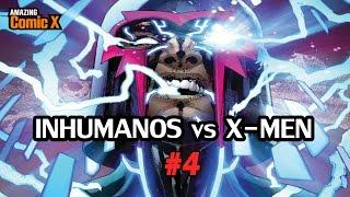 INHUMANOS vs X-MEN #04 - El plan de los Nu-Humanos - Comic en español - Narrado