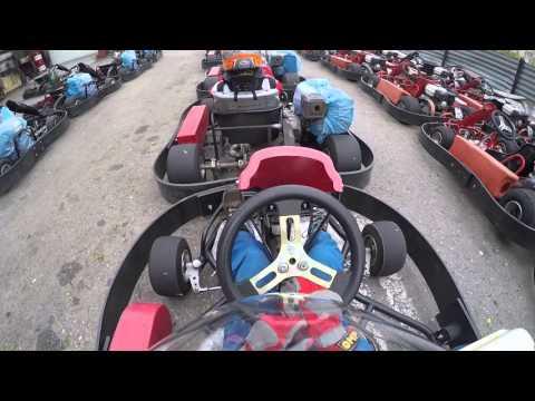 Занятия в детской школе картинга Пилот / Karting Club Pilot Children's School Moscow Kid Go Kart