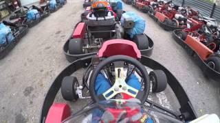 Занятия в детской школе картинга Пилот / Karting Club Pilot Children