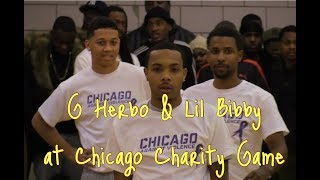 YoungBallerzTV : G Herbo & Lil Bibby play in Chicago Celebrity Basketball Game