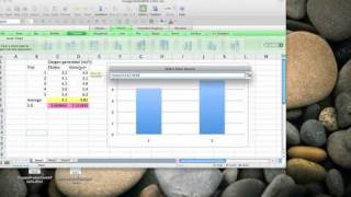 Excel for Mac 2008 make a vertical bar graph