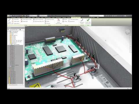 Autodesk Inventor Routed Systems 2013 and AutoCAD Electrical 2013