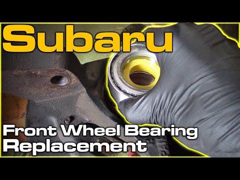 Subaru Front Wheel Bearing Replacement