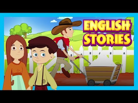 English Stories - Best English Stories For Kids || Lazy Horse and More - Kids Hut Stories