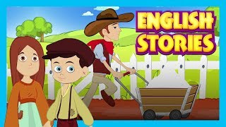 English Stories  Best English Stories For Kids || Lazy Horse and More  Kids Hut Stories