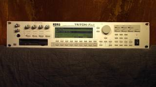 Korg Triton Rack Synthesizer Demo Songs