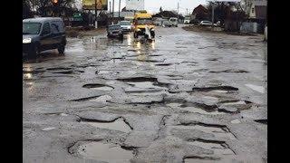 Rusya'da Yolları Ve Hayatı Konuşuyoruz/Asfaltta Krater Gibi Delikler