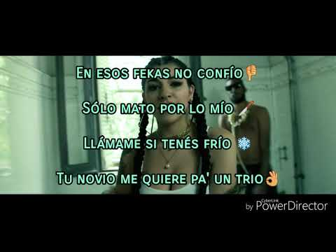 Mi Cubana 🌟Remix (LETRA 3D) Eladio Carrion x Khea x Cazzu x Ecko HD