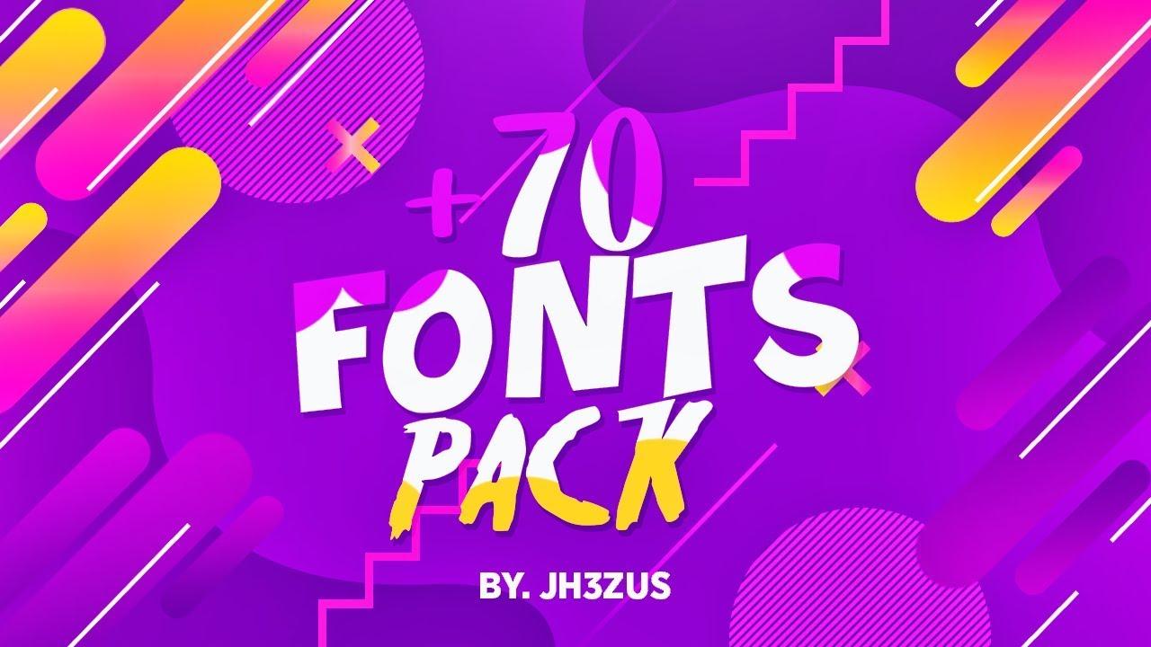 Download ¡PACK DE +70 FONTS PARA PHOTOSHOP 2019!🔥 - JH3ZUS FONT ...
