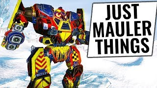 IT MAULS BEAUTIFULLY - Mauler Build - Mechwarrior Online 2018 MWO - TTB