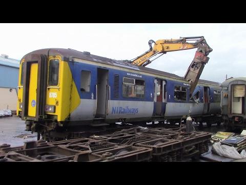 450 Class Scrapping at Ballymena P Way Yard