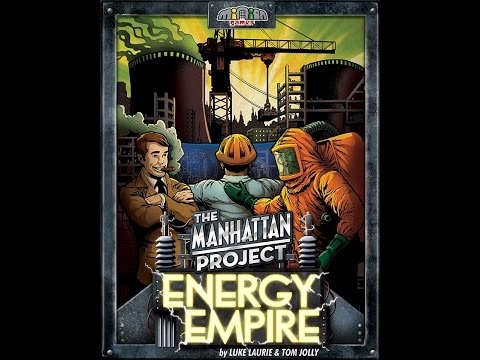 Manhattan Project Energy Empire 4 player - Watch & Learn board game with Rules Overview - Game #4