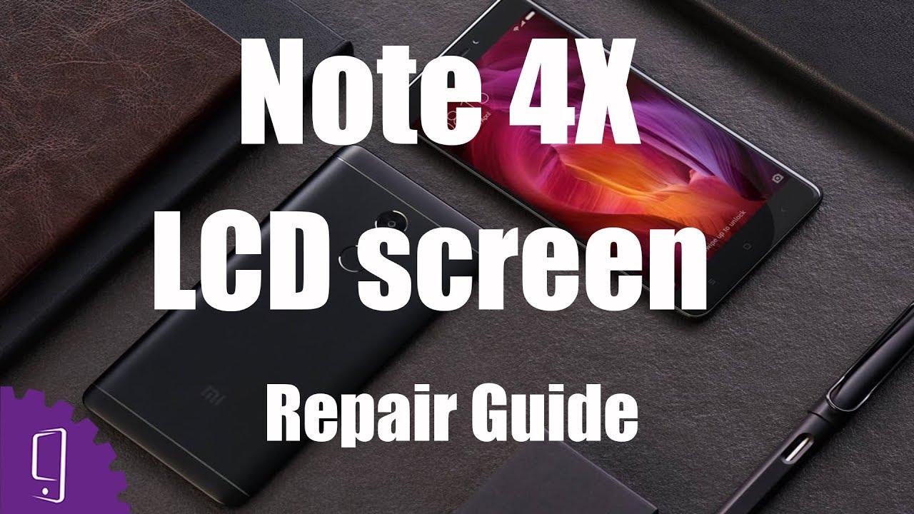 Xiaomi Redmi Note 4x Lcd Screen Repair Guide Youtube Touchscreen Ts Redmi4x