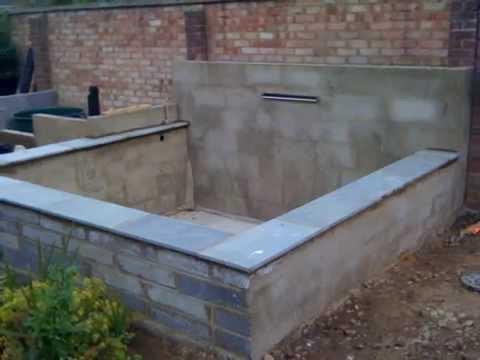 Concrete - Koi Pond Build