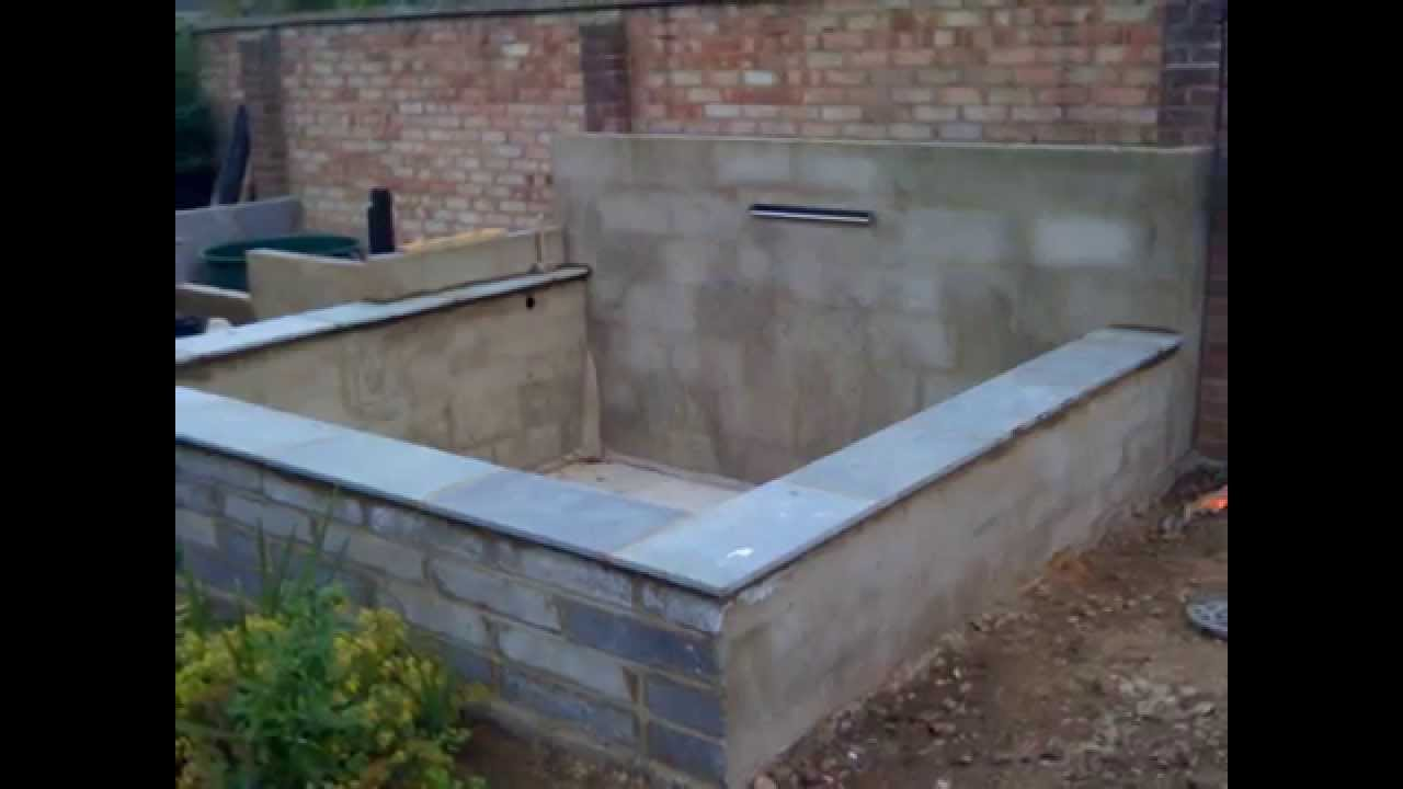 Koi Pond Build Wmv Youtube
