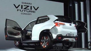 SUBARU VIZIV FUTURE CONCEPT THE INTERVIEW 東京モーターショー 2015 thumbnail
