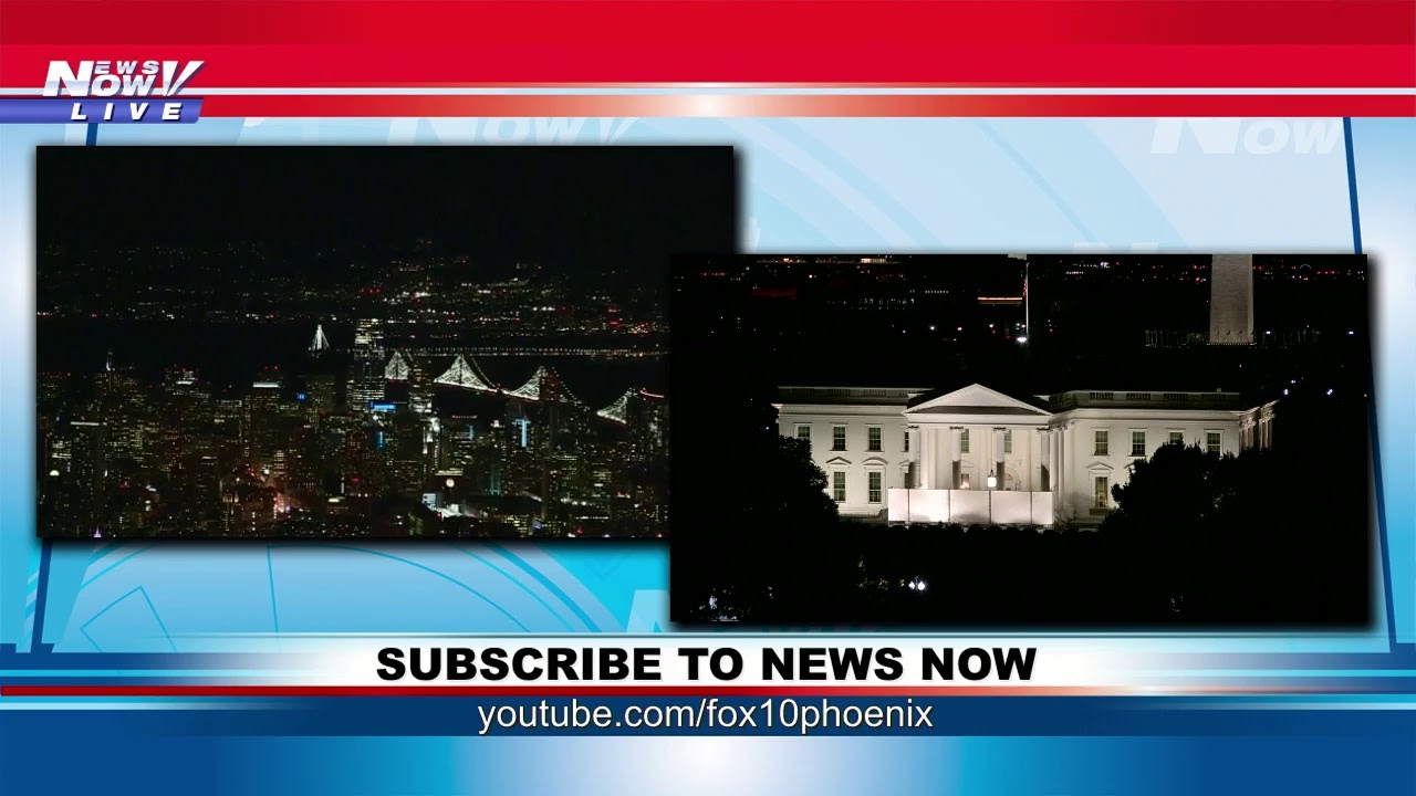 FOX 10 Phoenix LIVE: Democrats campaign, White House prepares for State Dinner on Friday