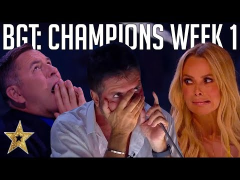 Britain's Got Talent: The Champions | Auditions | WEEK 1 | Got Talent Global