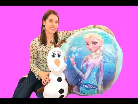 Olaf Anna Huge Surprise EGG New Barbie Dolls! from YouTube · Duration:  9 minutes 11 seconds