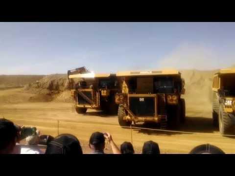 Raiser Vehicle Inspection >> Epic - Drifting a 200ton Mining Truck for EMC | Doovi