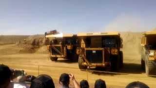 Caterpillar Mining Truck Lineup 775, 777, 785, 789, 793, MT4400, MT5300, 797