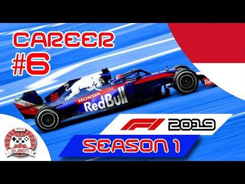 F1 2019 100% Career Ep.6 – Monaco Grand Prix (F1 2018 MOD)
