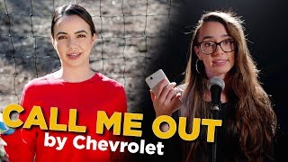 Call Me Out by Chevrolet - Merrell Twins