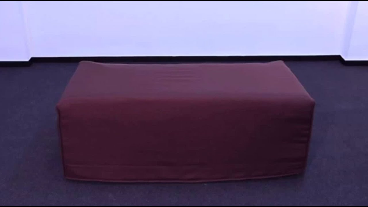 Puff cama de matrimonio de 135x190 cm youtube - Somier cama matrimonio ...