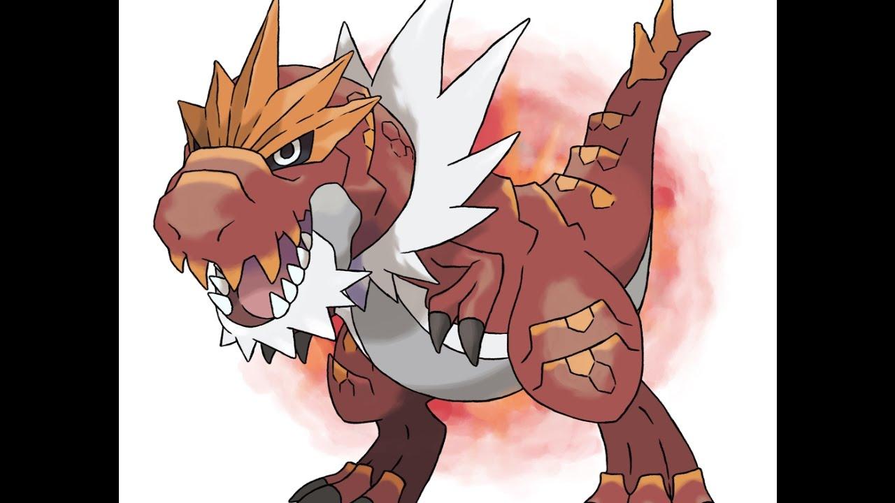 Tyrantrum Pokemon Revolution Online