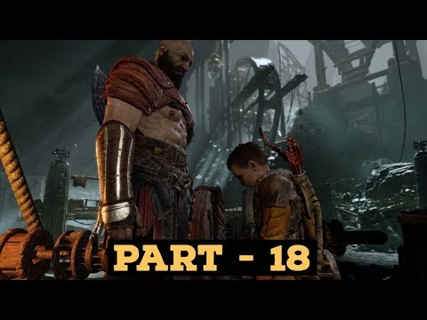 GOD OF WAR 4 Walkthrough Gameplay Part 18 - Inside The Mountain (Rope Stuck Under The Rock)