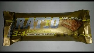Ratio Peanut Butter And Banana | Protein Bar Review