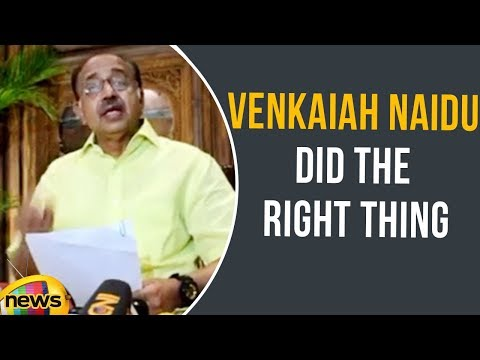 Vijay Goel Says Naidu Did The Right Thing By Rejecting Impeachment Motion | Mango News