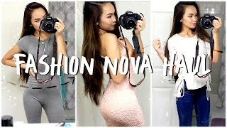 FASHION NOVA TRY-ON CLOTHING HAUL ✘ FALL 2016