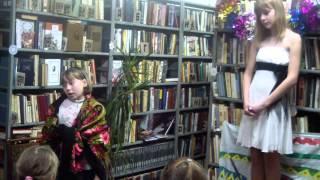 НГ спектакль в Митропольской библиотеке- продолжение