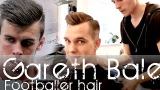 Gareth Bale Inspired Hairstyle | Men's Hair Tutorial  | By Vilain Silver Fox