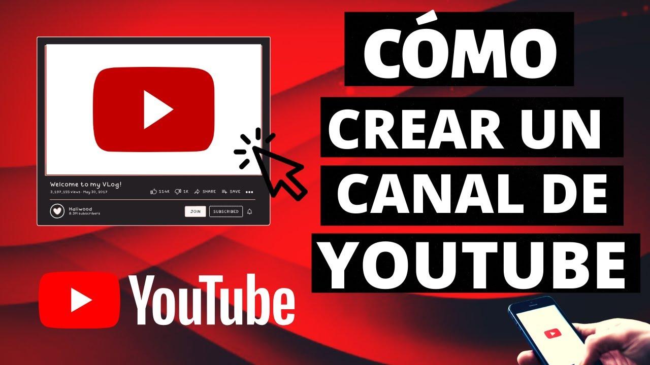 Como Crear Un CANAL de YOUTUBE 2020 [ Tutorial PASO A PASO ] ] #CanalYoutube