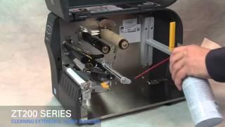 Gambar cover Zebra ZT200 Series How-To Clean Media Sensor & Exterior