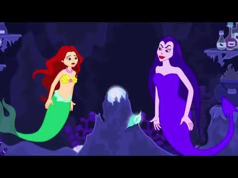 küçük deniz kızı çizgi film türkçe masal 8  adisebaba çizgi film masallar