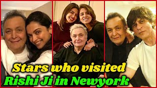 Bollywood Stars who Visited Rishi Kapoor in NewYork