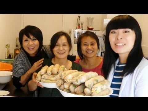 Rouleaux de printemps [Recette de ma maman] Versions: remaster, sans sel, protéiné, perso en famille